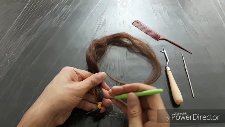 آموزش دِرِد کردن مو