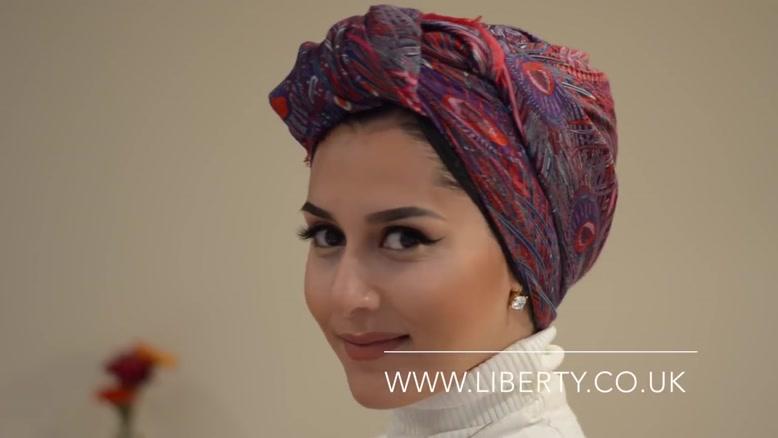 آموزش بستن روسری به مدل جدید