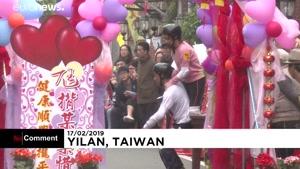 جشن سال نو میلادی در تایوان