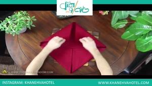 اینطوری یک دستمال گل زیبا درست کنید - مجموعه خانه و هتل