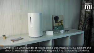 دستگاه رطوبت ساز ضد باکتری هوشمند شیائومی