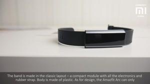 دستبند سلامت شیائومی مدل Amazfit Arc