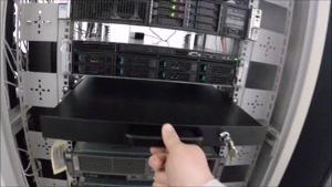 نگاهی به Server Room با انواع تجهیزات سیسکو٬ میکروتیک ٬ سرور اچ پی