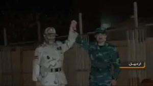 جشن نوروز در مرز ایران و جمهوری آذربایجان