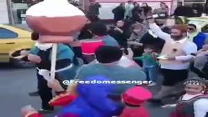 ویدئو پیشواز نوروز و بهار 98 کارناوال نوروزی در شهر چالوس
