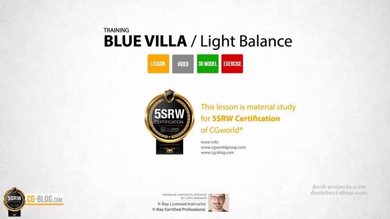 آموزش طراحی ویلا و استخر در 3ds Max و Vray