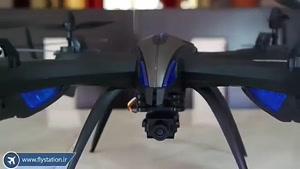 کوادکوپتر دوربین دار و خوش فرم i۸hw با ارسال زنده/ایستگاه پرواز