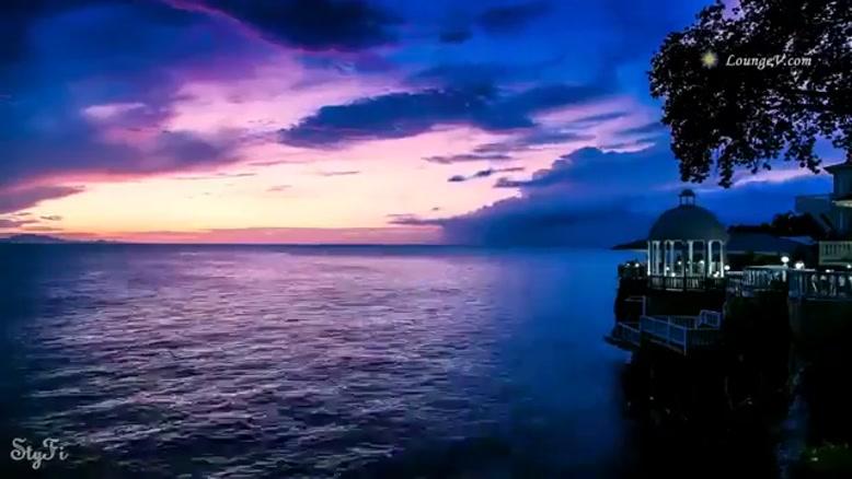 موسیقی بیکلام فوق العاده زیبا از ونجلیس به همراه تصاویری ازغروب خورشید