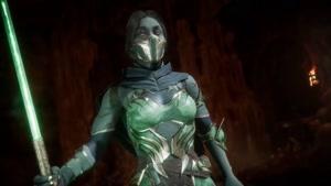 شخصیت jade  reveal در بازی Mortal Kombat ۱۱