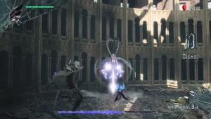 مبارزه با  Artemis در بازی Devil May Cry ۵