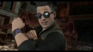 شخصیت جانی کیج در بازی Mortal Kombat ۱۱