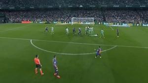 خلاصه بازی بارسلونا و رئال بتیس _ لالیگا اسپانیا