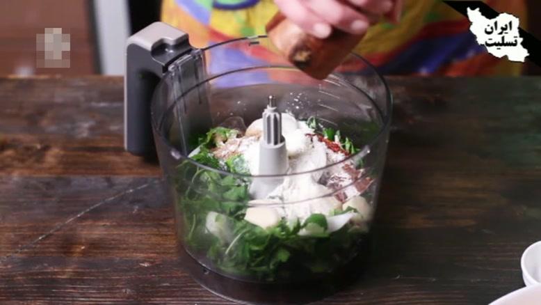 طرز تهیه فلافل سبزیجات