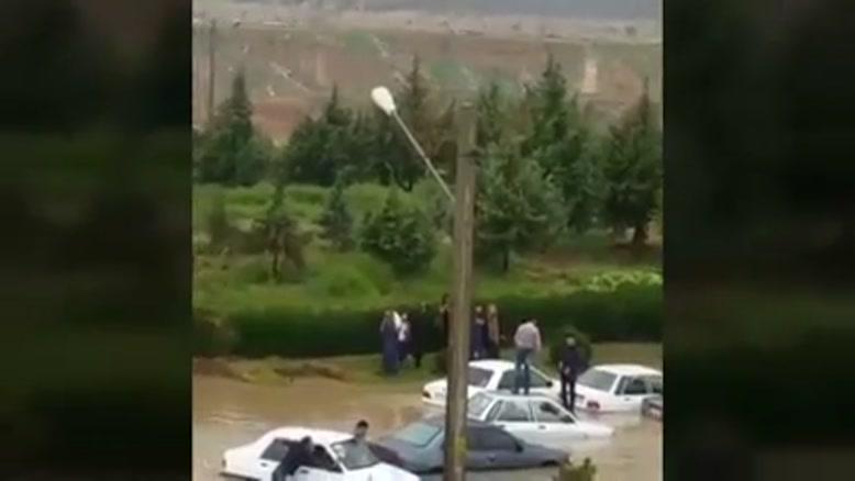 کمربندی شیراز زیرآب رفت