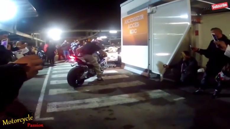 مسابقات هیجانی موتور سواری و حرکات نمایشی با موتور شماره ۶