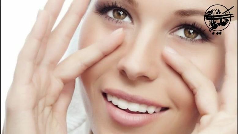 10درمان سیاهی دور چشم با روش های کاملا طبیعی