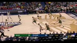 خلاصه بسکتبال میلواکی باکس ۱۳۰ - نیواورلئانز پلیکانز ۱۱۳