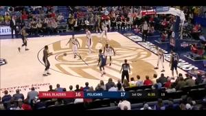 خلاصه بسکتبال NBA  پورتلند بلیزرز vs  نیواولئانز پلیکانز