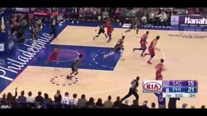خلاصه بسکتبال NBA فیلادلفیا vs ساکرامنتو
