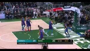 خلاصه بسکتبال میلواکی باکس ۱۳۱ - شارلوت هورنتس  ۱۱۴