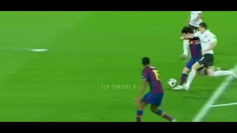 گل های بارسلونا در چمپیونز از سال 2009 تا 2019