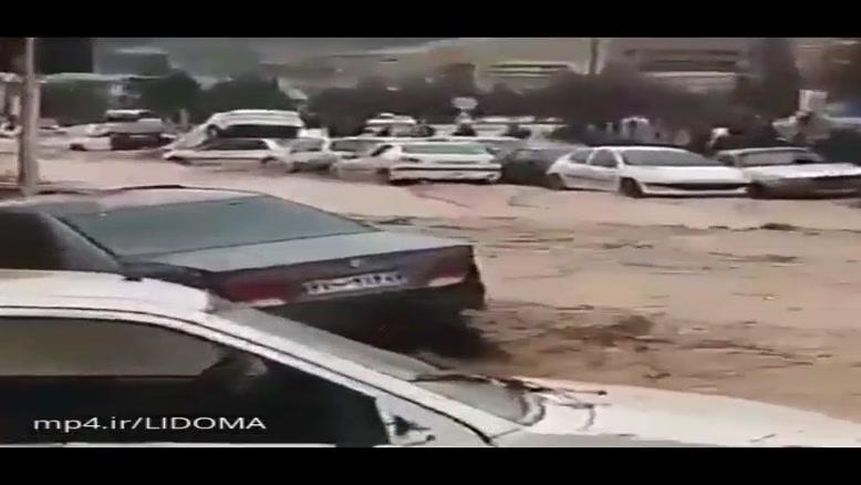 صحنه هایی دلخراش از سیل نوروز 98