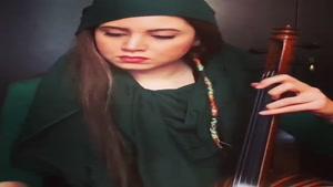 نوازنده هنرمند کمانچه