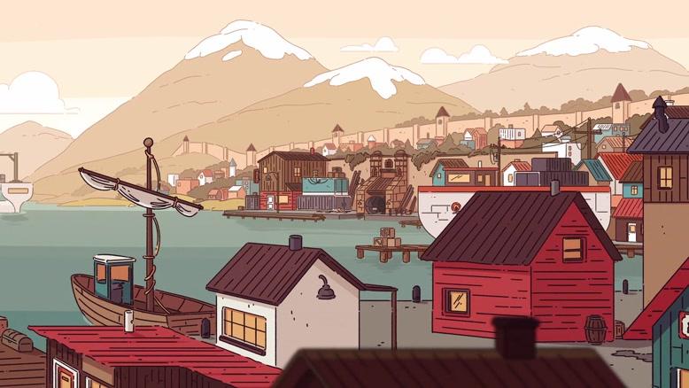 انیمیشن  هیلدا  Hilda دوبله فارسی قسمت شش