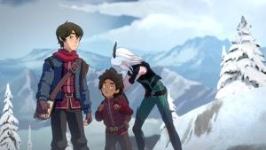 انیمیشن شاهزاده اژدها دوبله فارسی فصل ۱ قسمت هفت
