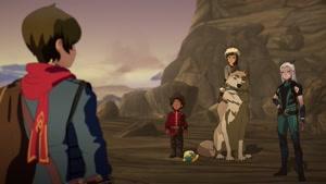 انیمیشن شاهزاده اژدها دوبله فارسی فصل ۱ قسمت هشت