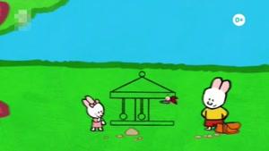 انیمیشن آموزش زبان انگلیسی  LOUIE THE DRAWING BUNNY قسمت  بیست  و هشت
