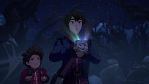 انیمیشن شاهزاده اژدها دوبله فارسی فصل ۱ قسمت نه