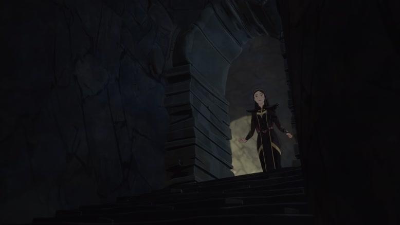انیمیشن شاهزاده اژدها دوبله فارسی فصل ۱ قسمت سه