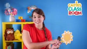 انیمیشن آموزش زبان انگلیسی CAITIES CLASSROON  قسمت چهل و سه