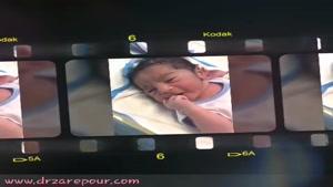 گل پسر متولد شده با زایمان طبیعی توسط دکتر نسرین زارع پور