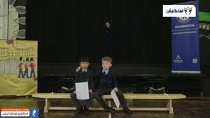 سوپرایز کردن دانش آموزان مدرسه از سوی ادن هازارد