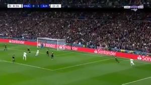 خلاصه بازی رئال مادرید و آژاکس