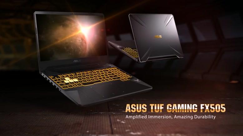لپ تاپ گیمینگ ASUS TUF FX505DY برای Ryzenها قیام کرده است.