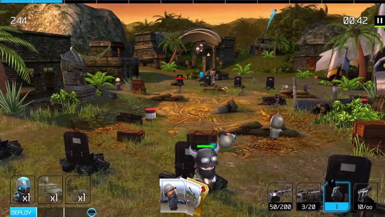 تریلر بازی موبایل War Friends