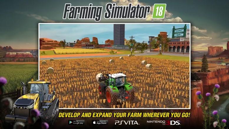 تریلر بازی موبایل Farming Simulator 18
