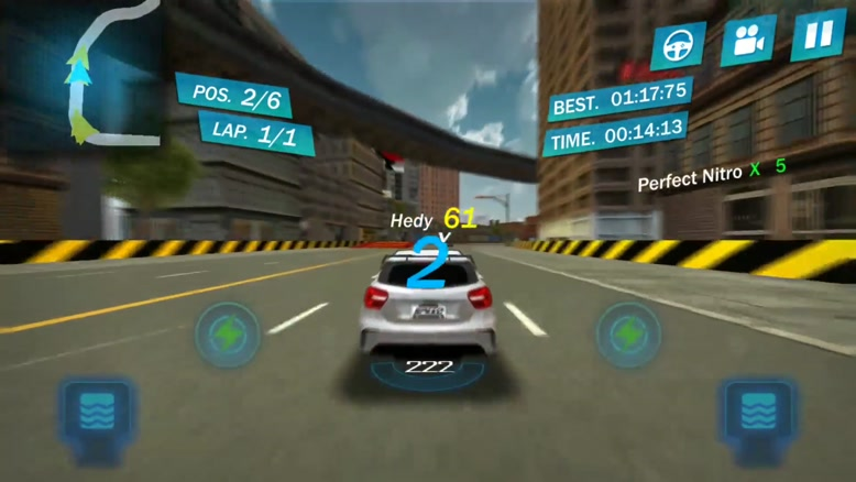 تریلر بازی موبایل   Street Racing ۳D