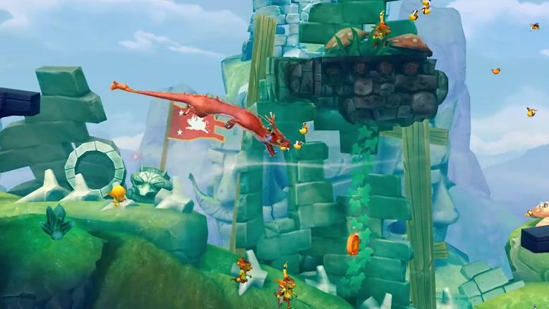 تریلر بازی موبایل Hungry Dragon