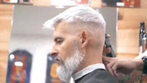 آموزش کوتاهی موی مردان جا افتاده