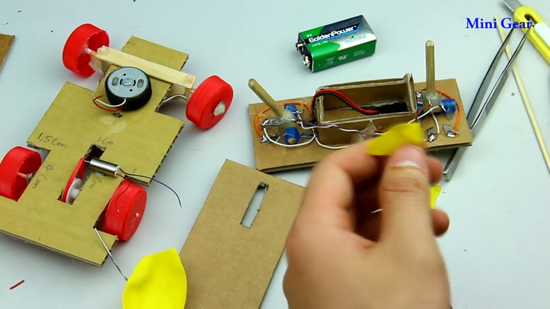 ساخت ماشین کنترلی در خانه