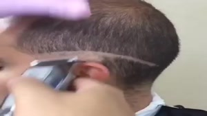 فید کردن موی مردانه