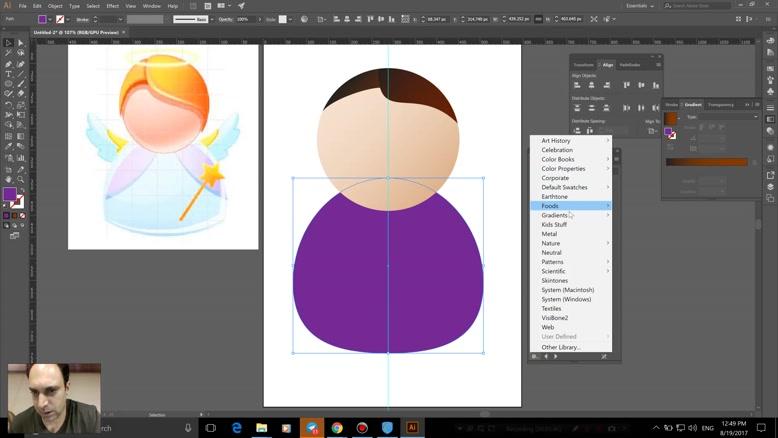 آموزش Adobe Illustrator  استاد سعید طوفانی - قسمت ۴