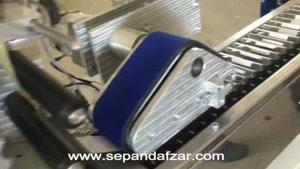 لیبل چسبان تمام اتوماتیک لوله آزمایش مدل SA350 سپندافزار