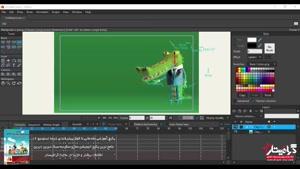 آموزش رایگان انیمه استودیو –قسمت چهارم آشنایی کامل با بخش تایم لاین