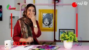 aparat.com _ مدل آرایش فوق خفن دخترا در ایران