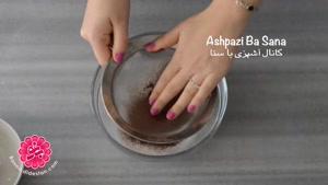 didestan.com - طرز تهیه کاپ کیک رد ولوت حرفه ای و تکنیک مخملی کردن آن